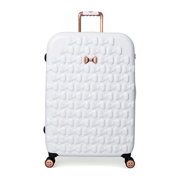 Beau Suitcase - White
