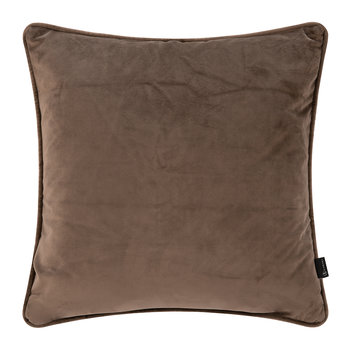 Velvet Cushion - Chocolate