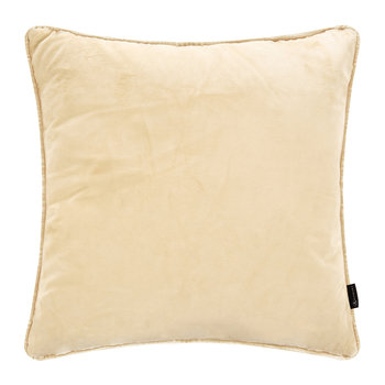 Velvet Cushion - Natural
