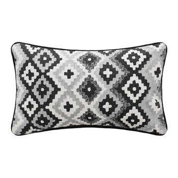 Mono Diamond Pixel Cushion - 30x50cm