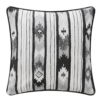 Mono Ikat Stripe Cushion - 45x45cm