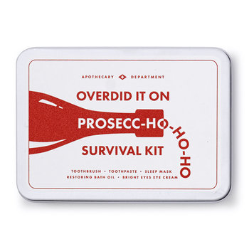 Prosecc-Ho Ho Ho Survival Kit