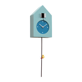 Freebird Tarzan Wall Clock - Light Blue