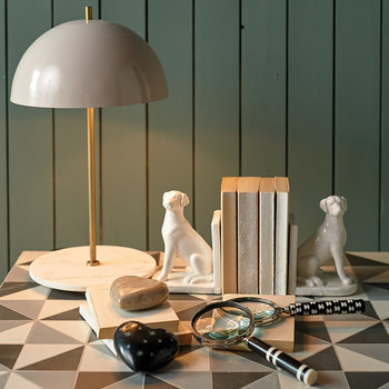Alby Table Lamp - Grey