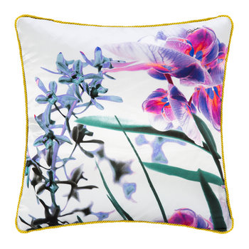 Phalaenopsis Silk Cushion - 40x40cm - Pink