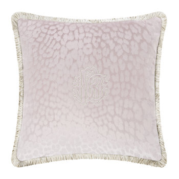 Monogram Pillow - Mauve