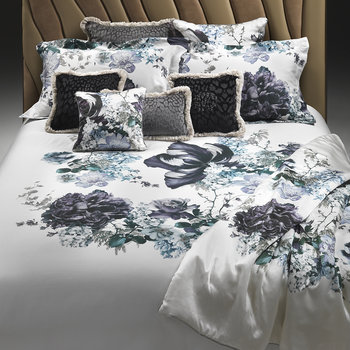 Floris Duvet Set - Blue