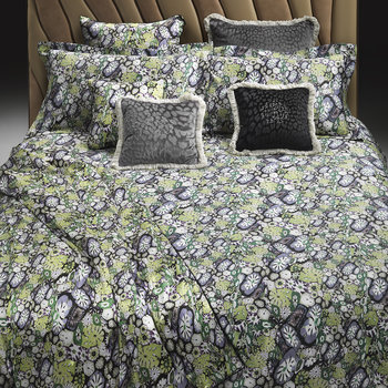 Murrine Duvet Set - Green