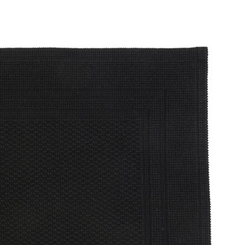 Fina Bath Mat - Black