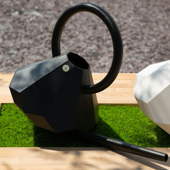 Diamond Watering Can - Onyx