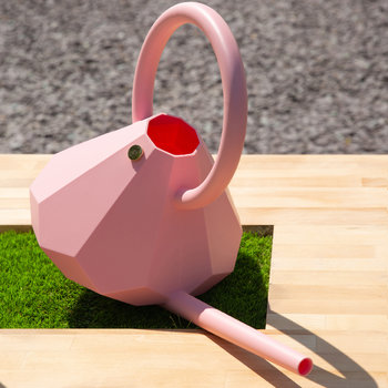 Diamond Watering Can - Rusty Rose