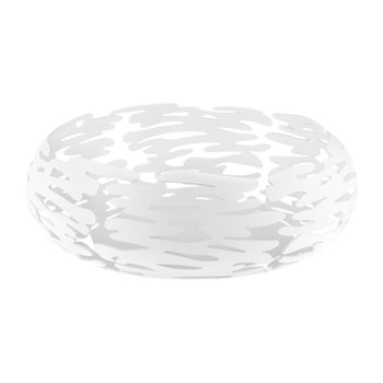 Plat Rond Barknest - Acier Inoxydable - Blanc