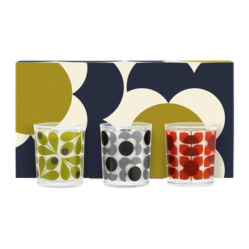 Shadow Flower Mosaic Mini Candle Gift Set