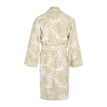 Tropicalia Shawl Bathrobe - Beige