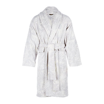 Tropicalia Shawl Bathrobe - Grey