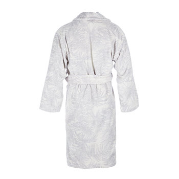 Tropicalia Shawl Bathrobe - Gray