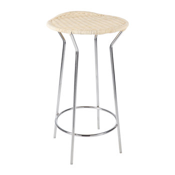 Bar Natural Wicker Stool
