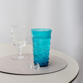 Orbit Highball Glasses - Set of 6 - Aquamarine