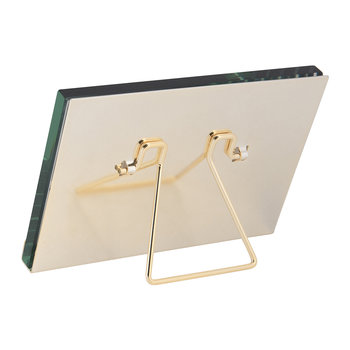 Gold Block Plated Steel Photo Frame