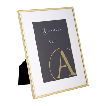 Gold Plated Steel Photo Frame