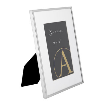 Silver Plated Steel Photo Frame