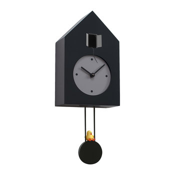 Freebird Wall Clock - Black