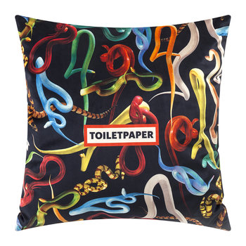 Toiletpaper Pillow Cover - 50x50cm - Snakes