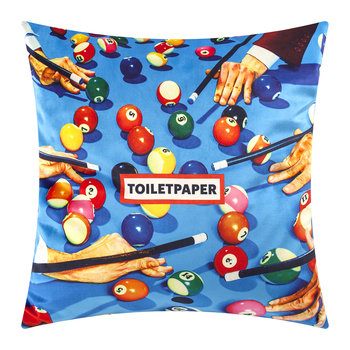 Toiletpaper Cushion Cover - 50x50cm - Snooker