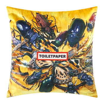 Toiletpaper Cushion Cover - 50x50cm - Insects