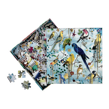 Birds Sinfonia Double Sided Jigsaw Puzzle