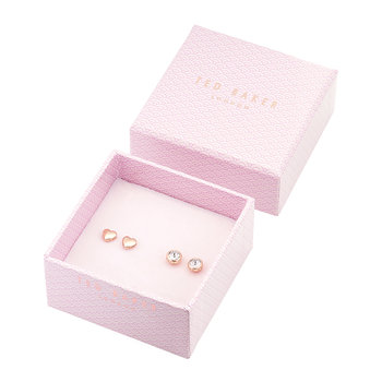 Harly & Sinaa Earrings Box Set - Rose Gold/Crystal