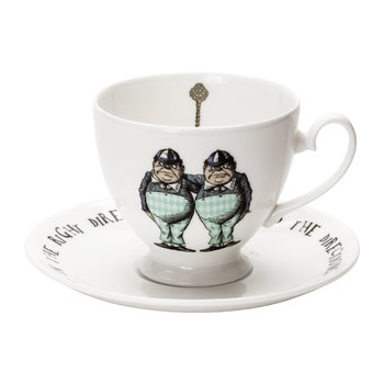 Tweedles Teacup & Saucer