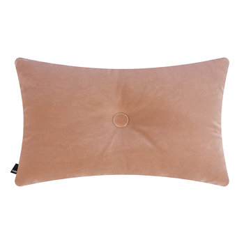 Velour Dot Pillow - 45x60cm - Rose