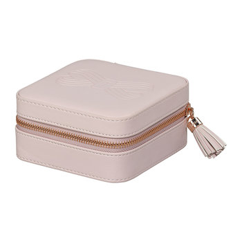 Zipper Jewellery Case - Pink