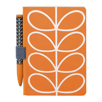 A6 Notebook & Pen Set - Linear Stem