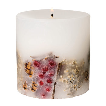 Nutmeg, Ginger & Spice Fat Pillar Candle