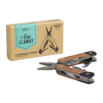 Fishing Multi-Tool - Acacia Wood & Titanium