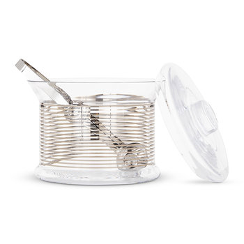 Tank Ice Bucket & Tongs