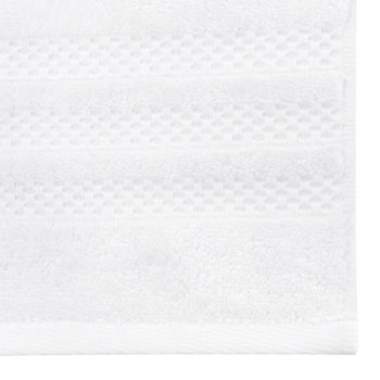Egyptian Cotton Towel - White