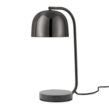 Grant Steel Table Lamp - Black