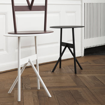Table d'Appoint Stock - Blanc