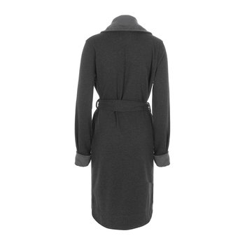 Women's Blanche II Bathrobe - Black Bear Heather