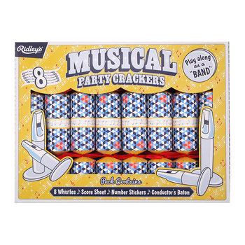 Ridley's Musical Christmas Cracker - Set of 8