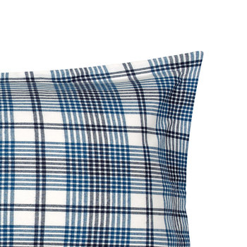 Flannel Check Pillowcase - 50x75cm