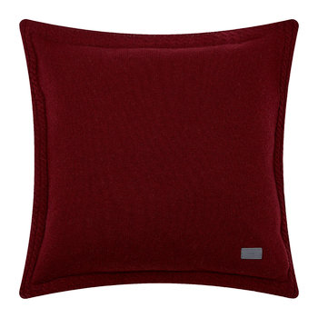 Light Cable Knit Pillow - 50x50cm - Winter Wine