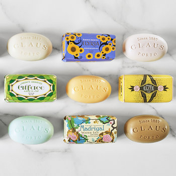 Deco Collection Gift Box - Set of 3 Soaps - Elite/Alface/Voga