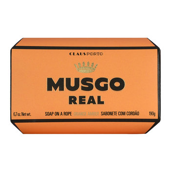 Musgo Real Soap on a Rope - Orange Amber