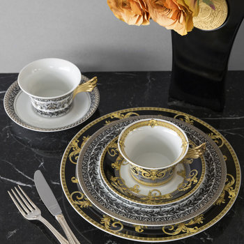 25th Anniversary Marqueterie Teacup & Saucer - Limited Edition