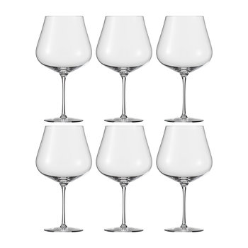 Air Burgundy Wine Glasses - Set of 6