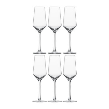Pure Champagne Flutes - Set of 6